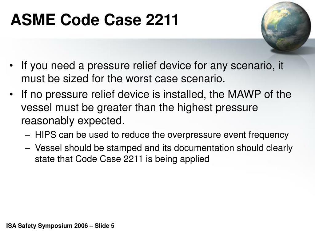 ASME Code Case 2211