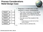 process considerations relief design case20