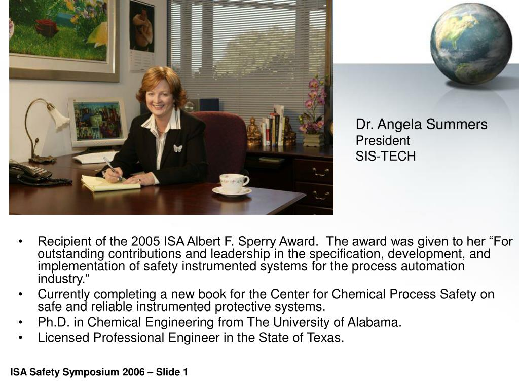 Dr. Angela Summers
