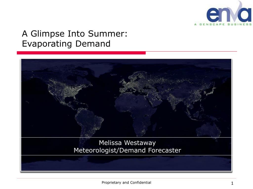 A Glimpse Into Summer: