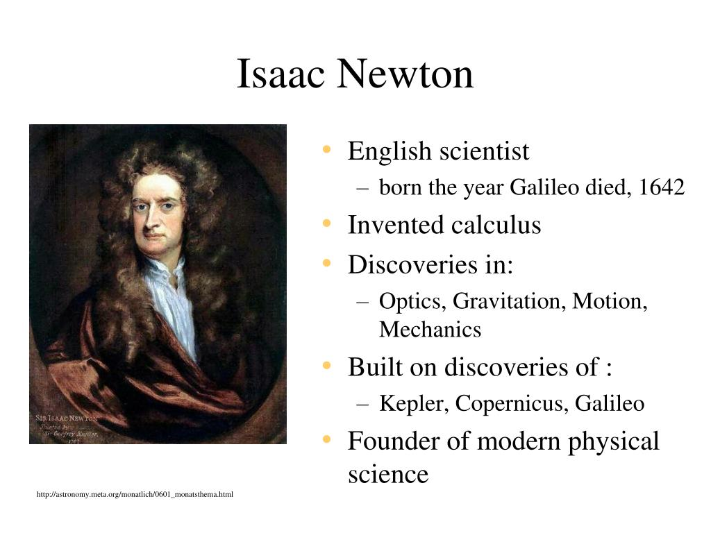 gravity isaac newton and astronomy - photo #46