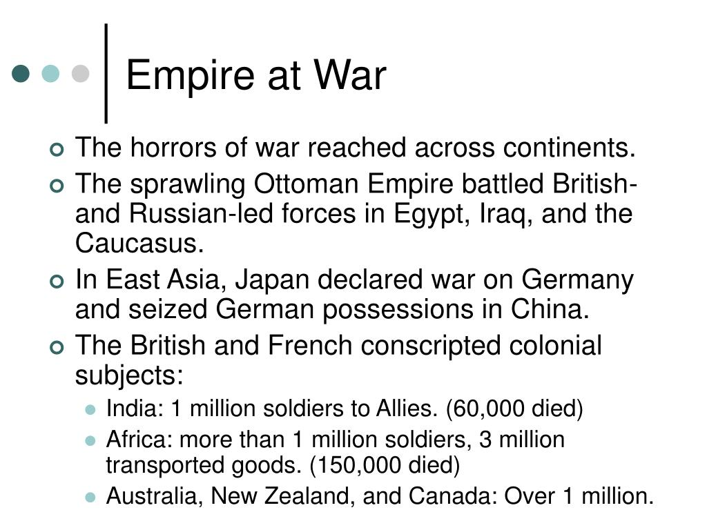 Empire at War