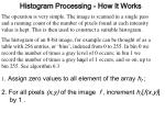 histogram processing how it works