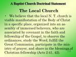 a baptist church doctrinal statement3
