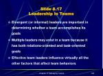 slide 8 17 leadership in teams