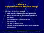 slide 8 3 characteristics of effective groups