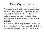mass organizations16