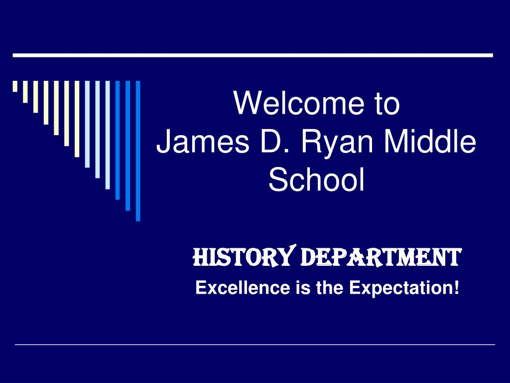 welcome to james d ryan middle school