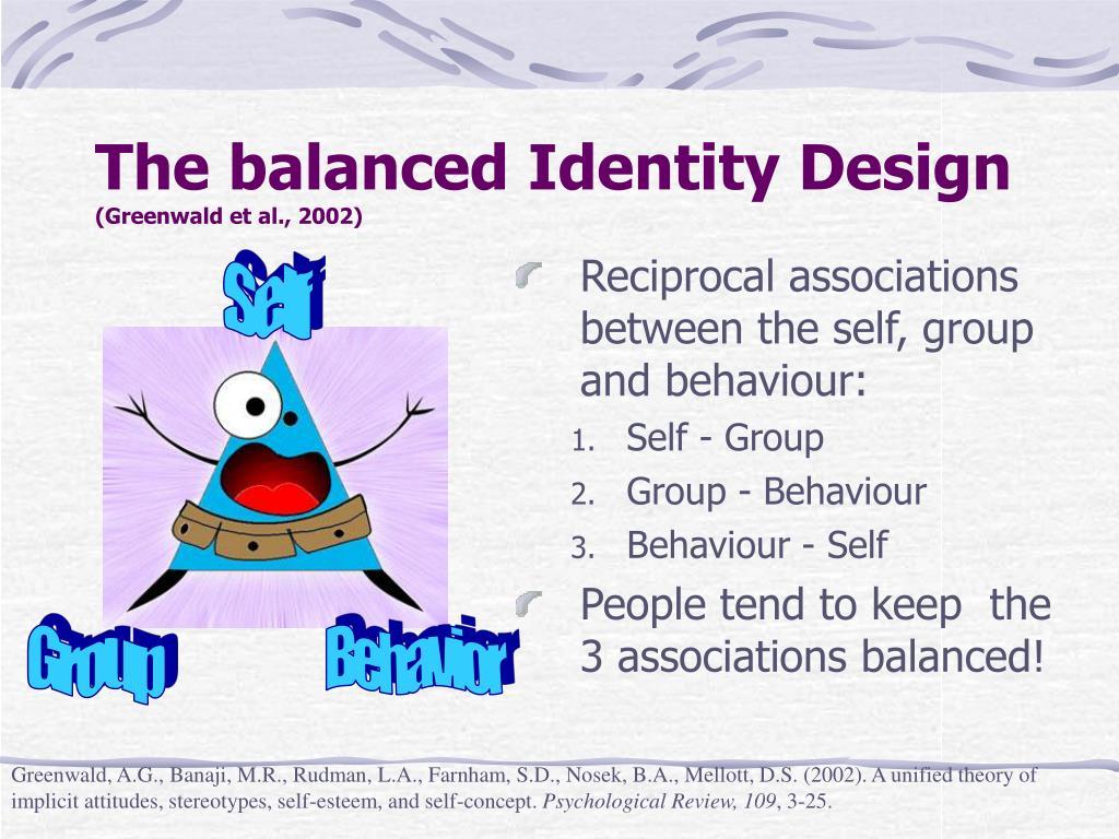 The balanced Identity Design