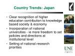 country trends japan