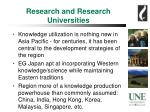 research and research universities