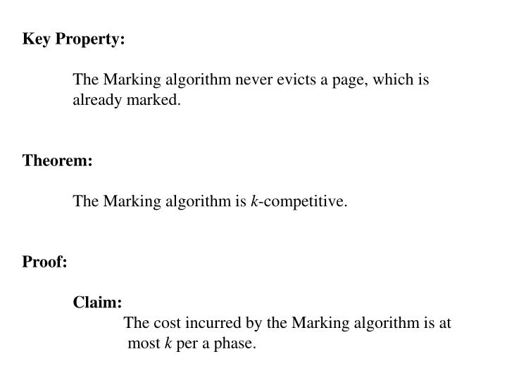 Key Property: