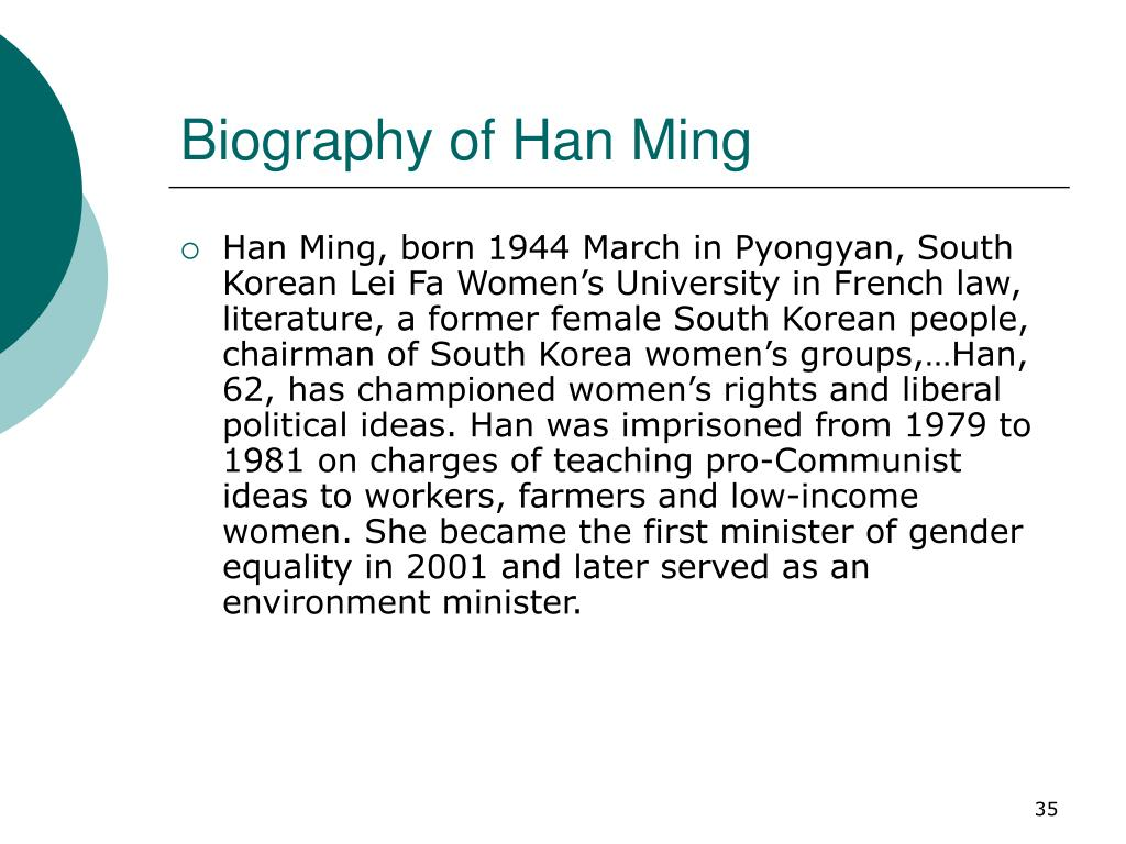Biography of Han Ming