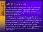 amsp continued10