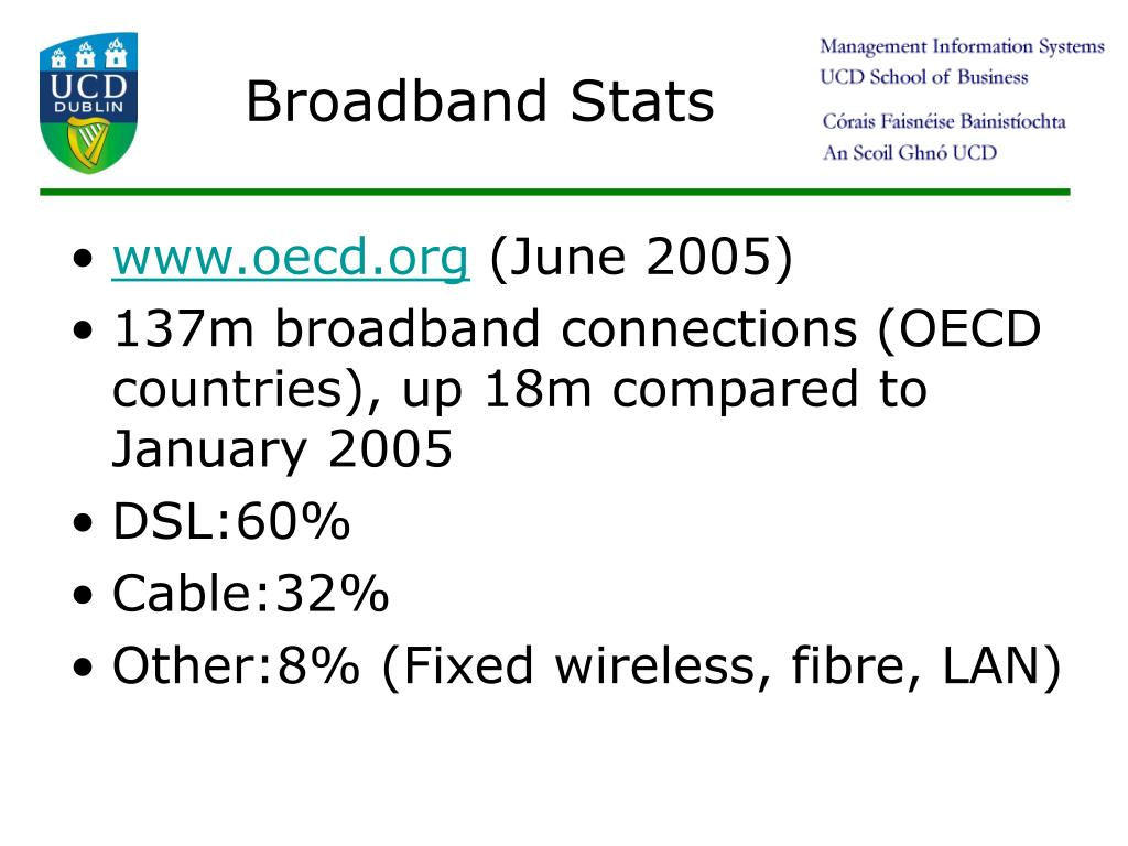Broadband Stats