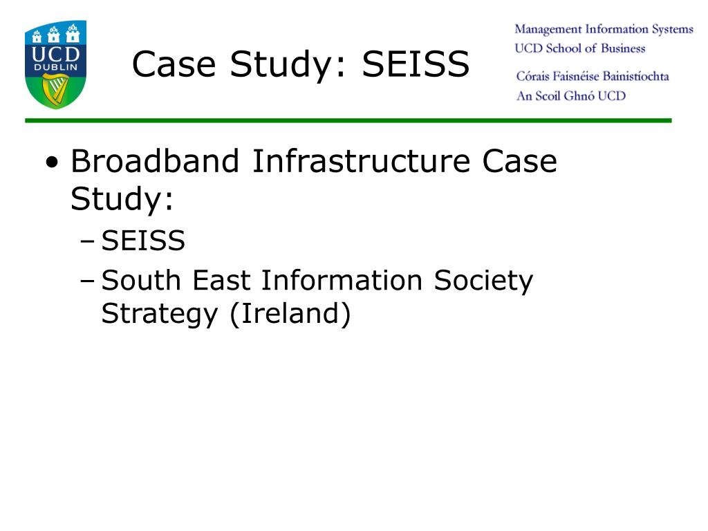 Case Study: SEISS