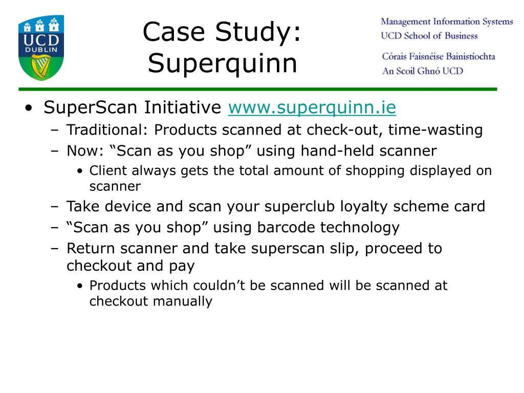 Case Study: Superquinn