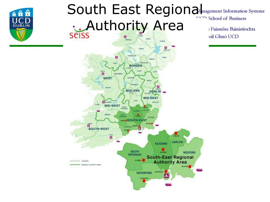 South East Regional Authority Area