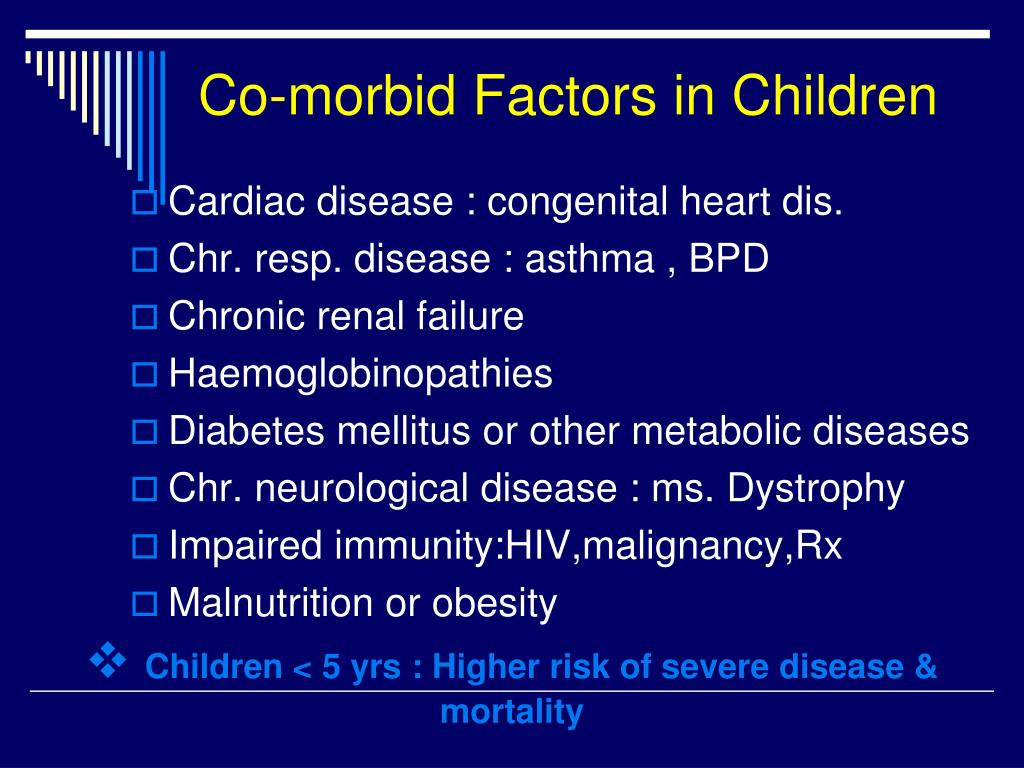 Co-morbid Factors in Children