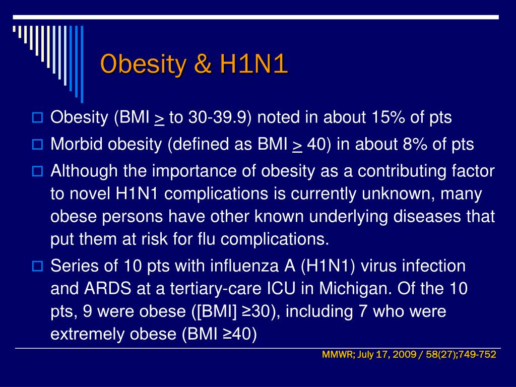 Obesity & H1N1