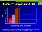 cigarette smoking and qol