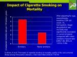 impact of cigarette smoking on mortality