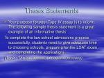 thesis statements4