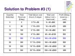 solution to problem 3 1