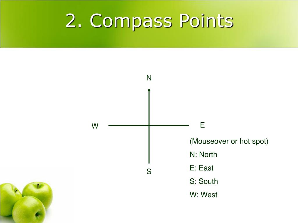 2. Compass Points