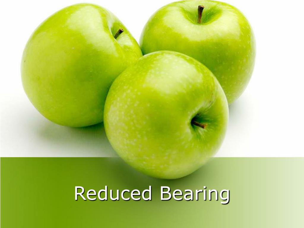 reduced bearing