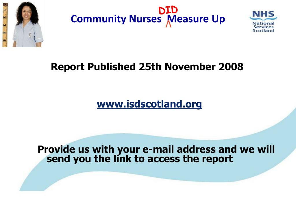 Report Published 25th November 2008