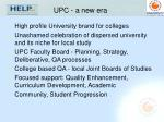 upc a new era
