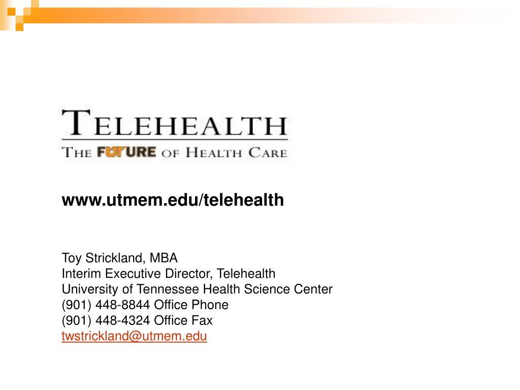 www.utmem.edu/telehealth