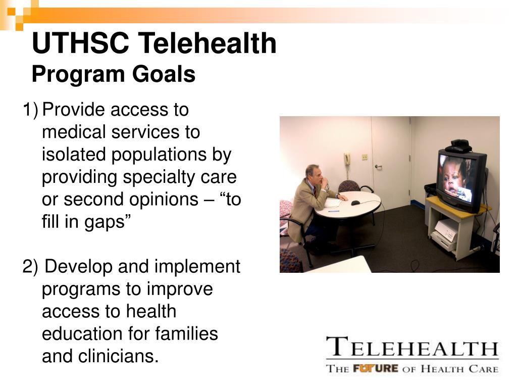 UTHSC Telehealth