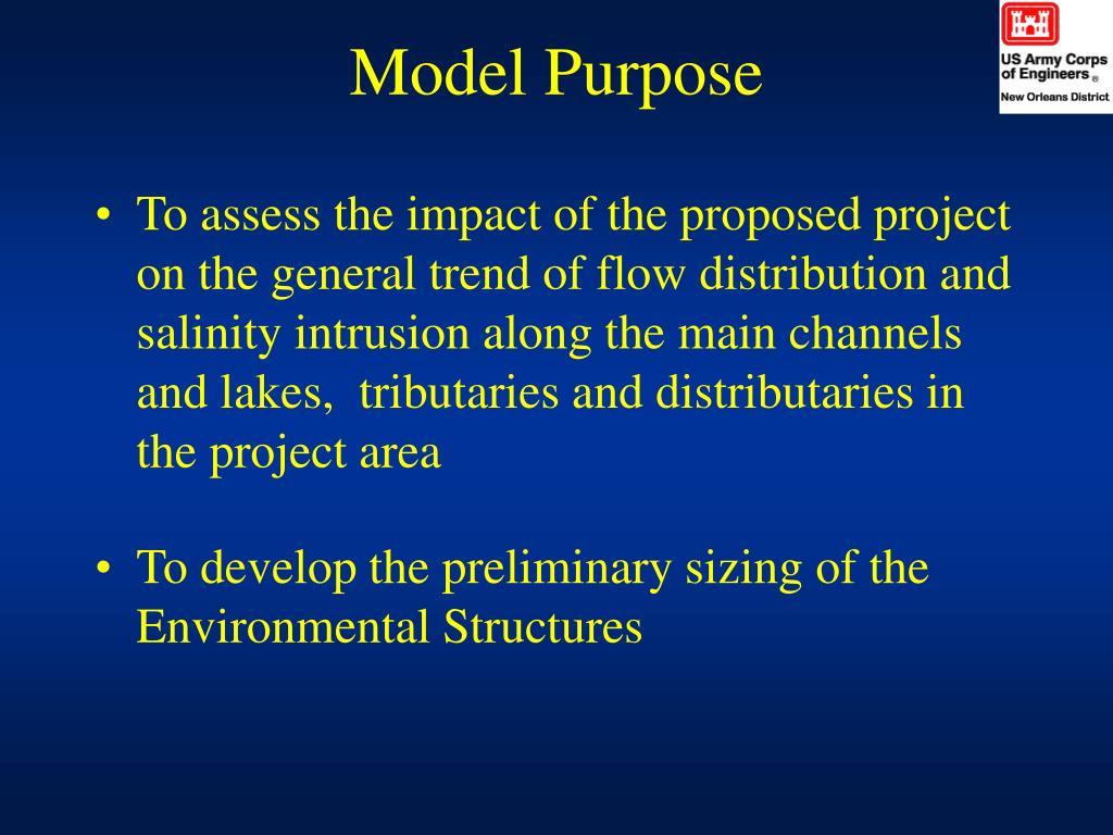 Model Purpose