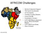 africom challenges