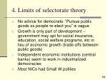 4 limits of selectorate theory