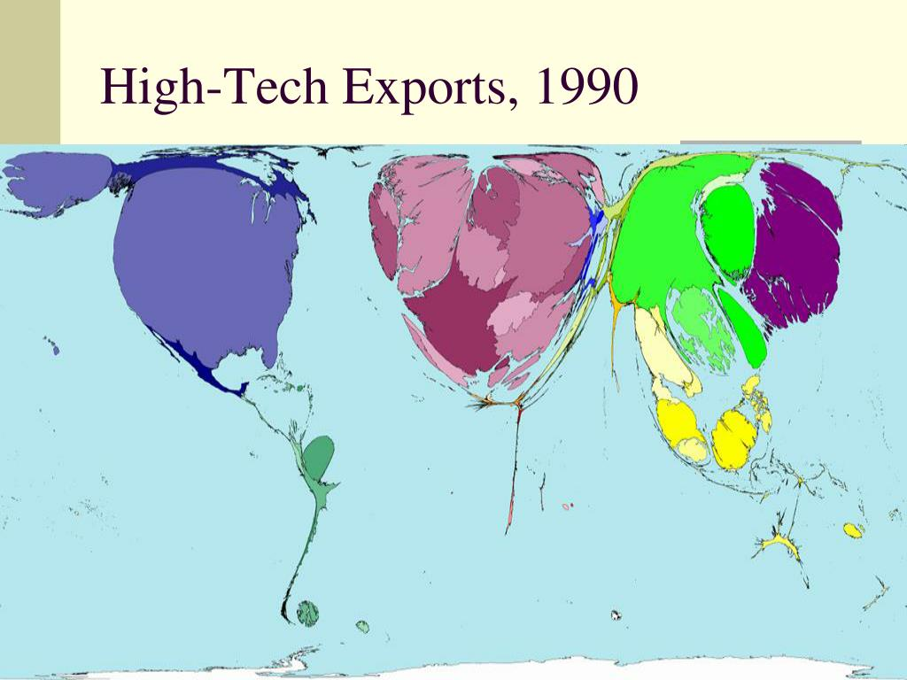 High-Tech Exports, 1990