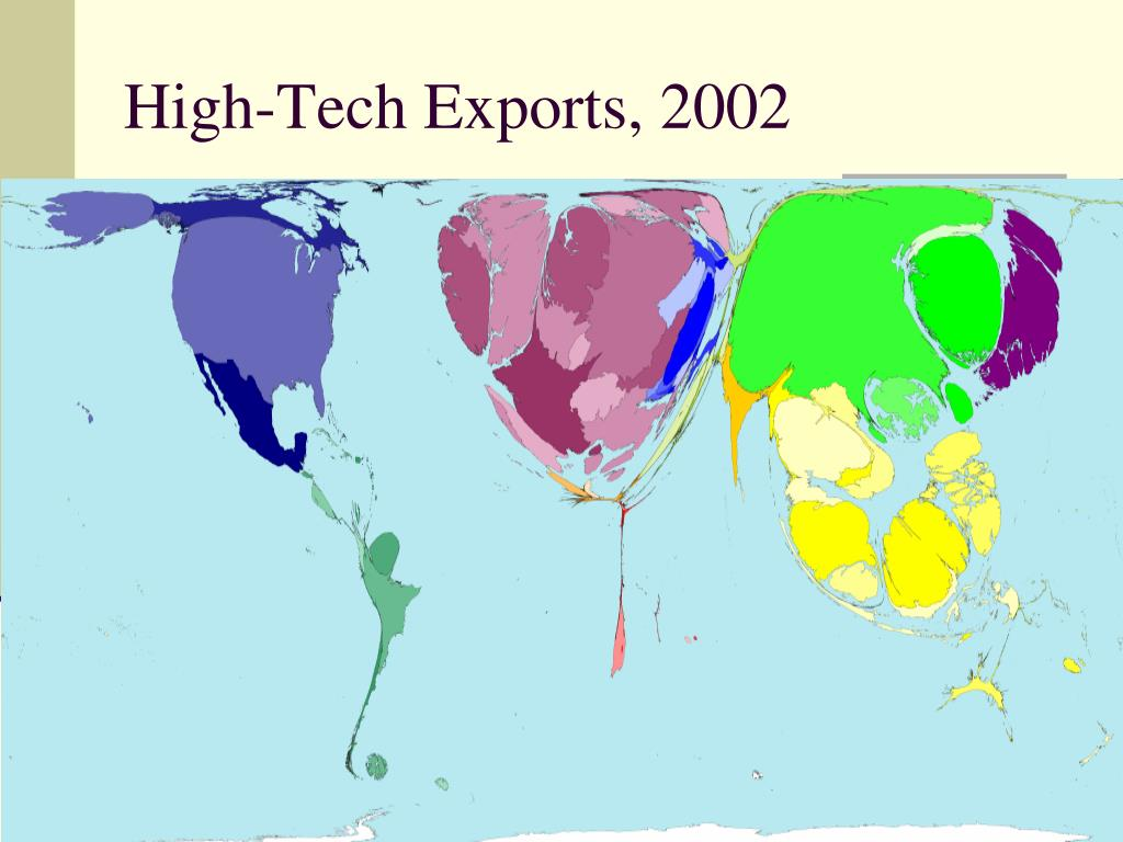 High-Tech Exports, 2002