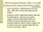 i the development paradox how can wealth become poverty and poverty become wealth6