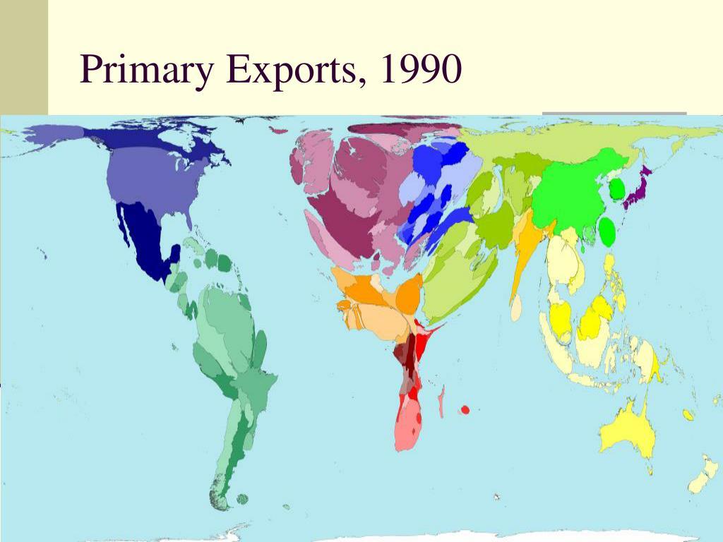 Primary Exports, 1990