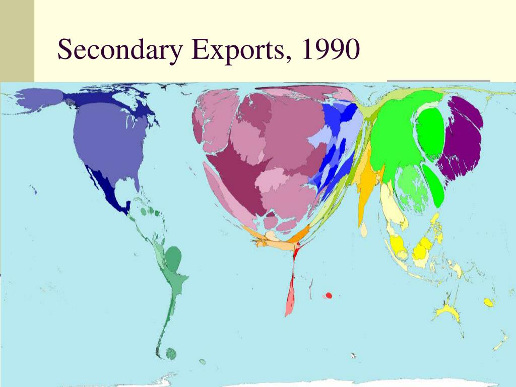 Secondary Exports, 1990