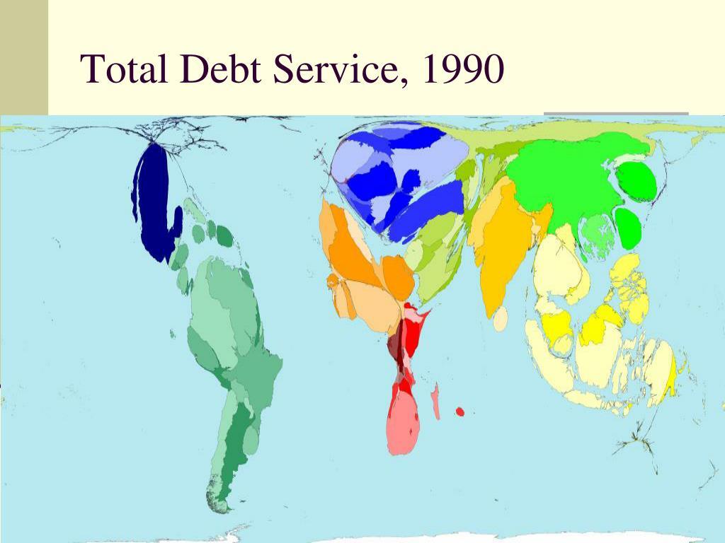 Total Debt Service, 1990