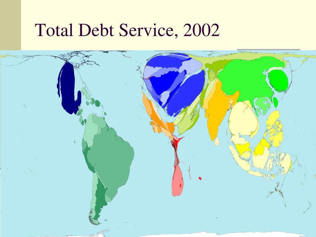 Total Debt Service, 2002