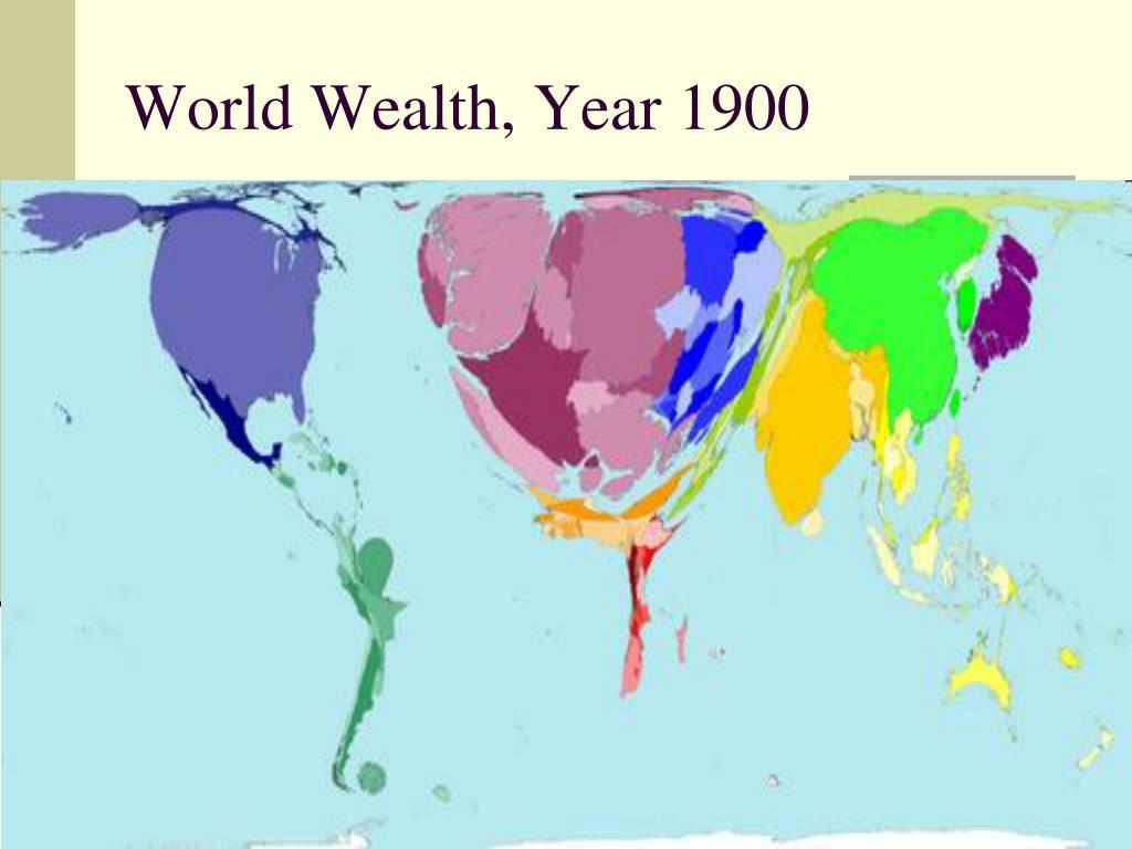 World Wealth, Year 1900