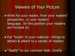 viewers of your picture