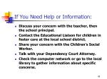 if you need help or information