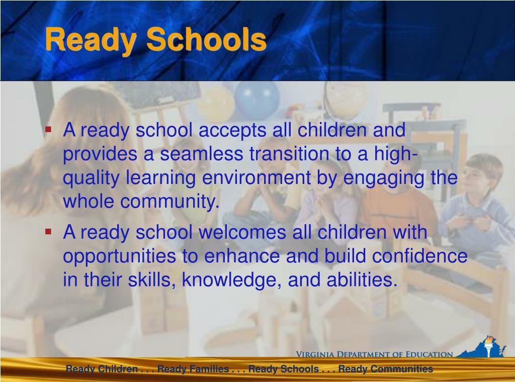 Ready Schools