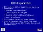 dhs organization