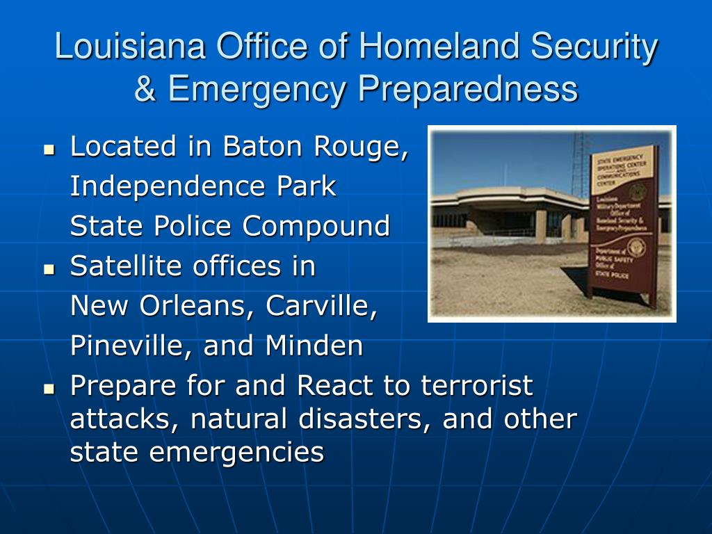 Louisiana Office of Homeland Security & Emergency Preparedness
